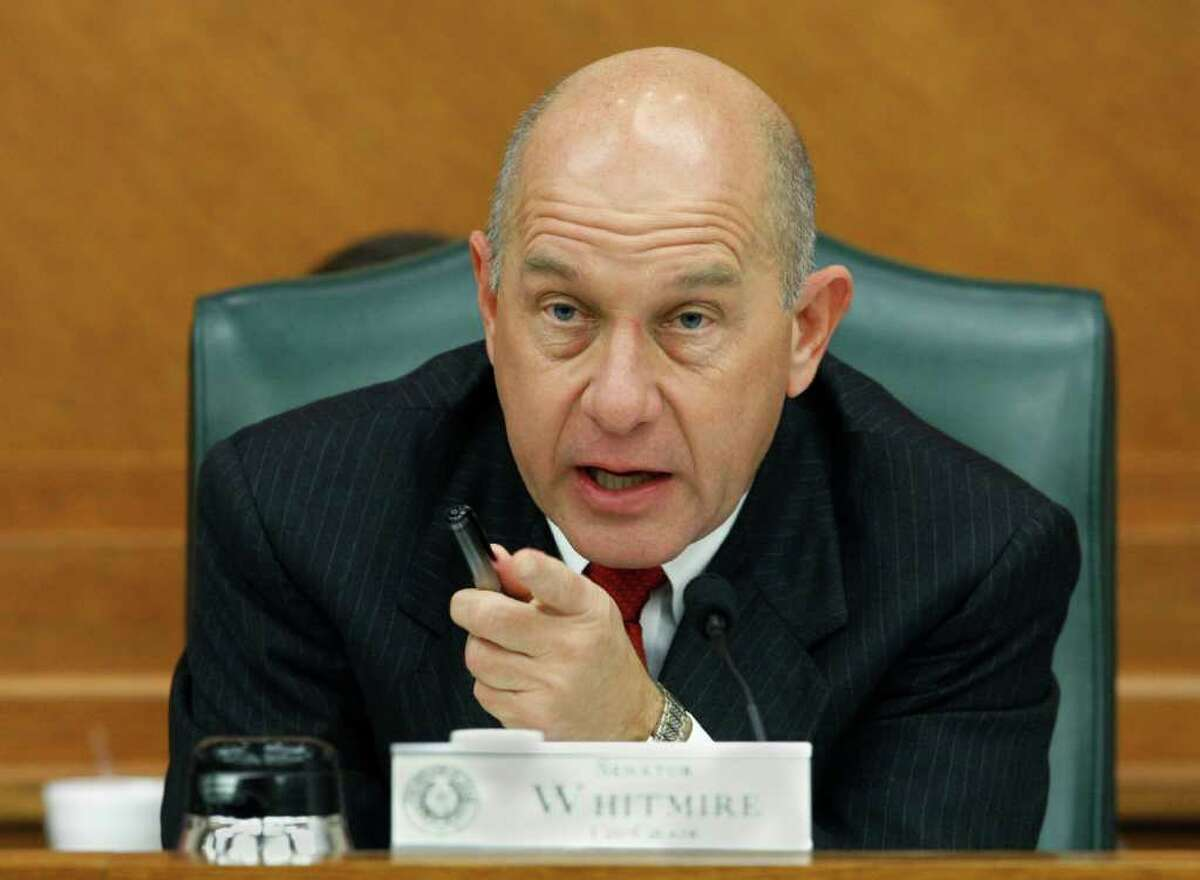 Sen. John Whitmire, D-Houston, says extravagant meals for condemned inmates are