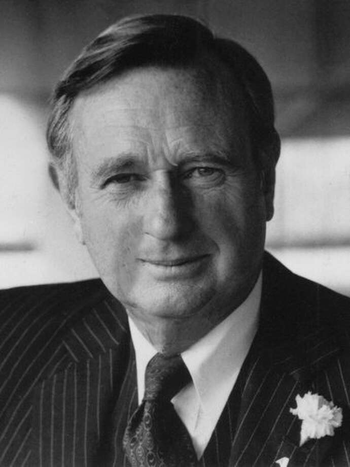 William May, the chairman and chief executive of American Can Co. for 15 years who was instrumental in moving the company's headquarters to Greenwich in 1972, died Sunday, Sept. 18, 2011, at Greenwich Hospital. He was 95. Photo: Contributed Photo