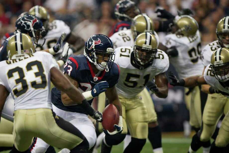 Smiley N. Pool: Chronicle : The undefeated Texans face the Saints next. Photo: Smiley N. Pool / © 2011 Houston Chronicle