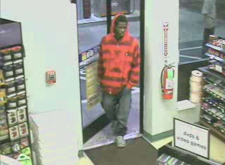 Bridgeport police are searching for this man, who they say robbed the Cumberland Farms store on East Main Street on Monday, Sept. 19, 2011. Photo: Contributed Photo