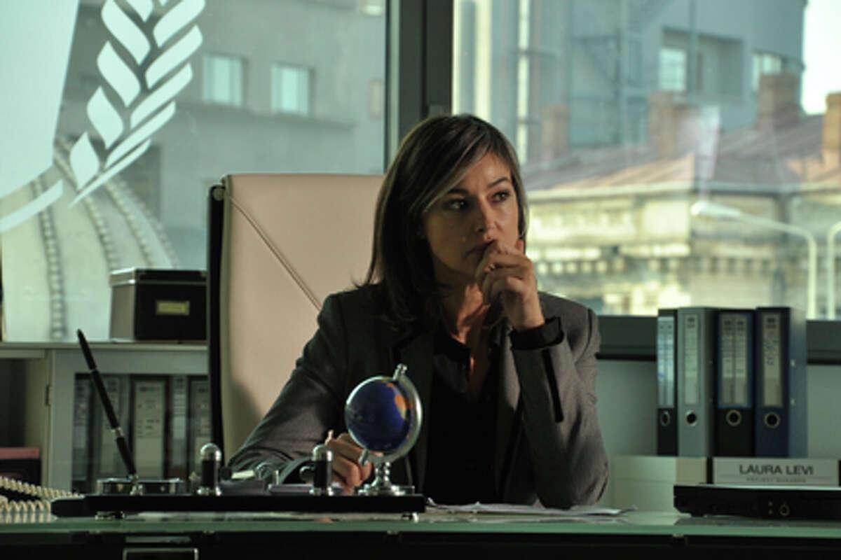 """Monica Bellucci as Laura Leviani in """"The Whistleblower."""""""