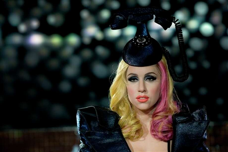 This is the Lady Gaga wax figure at Madame Tussauds. Photo: AP / AP2010