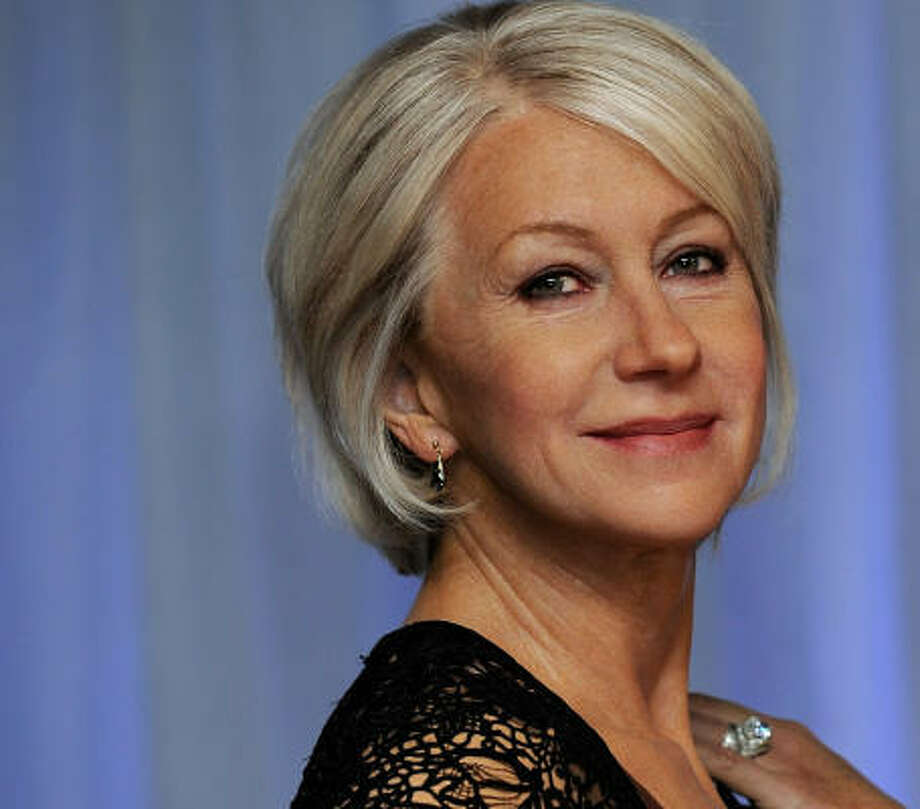 Real or wax? Helen Mirren Photo: Gareth Cattermole, Getty Images