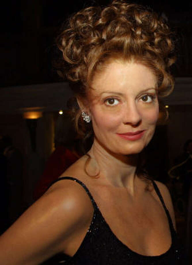 Real or wax? Susan Sarandon Photo: SHAWN BALDWIN, AP