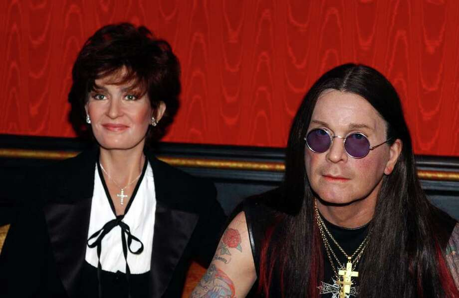 Ozzy and Sharon Osbourne waxfigures were unveiled at Madame Tussaud's Wax Museum on 42nd Street in New York. Photo: NICOLAS KHAYAT, KRT / ABACA PRESS