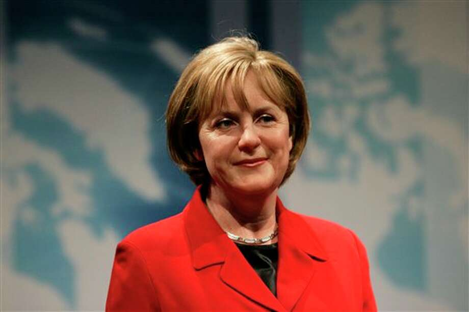 Real or wax? Angela Merkel, Chancellor of Germany Photo: Associated Press / AP2008