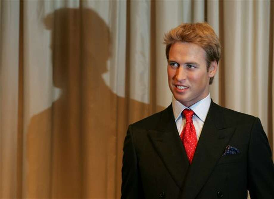 A wax work model of Britain's Prince William is unveiled at Madame Tussaud's in London. Photo: AP / AP2005
