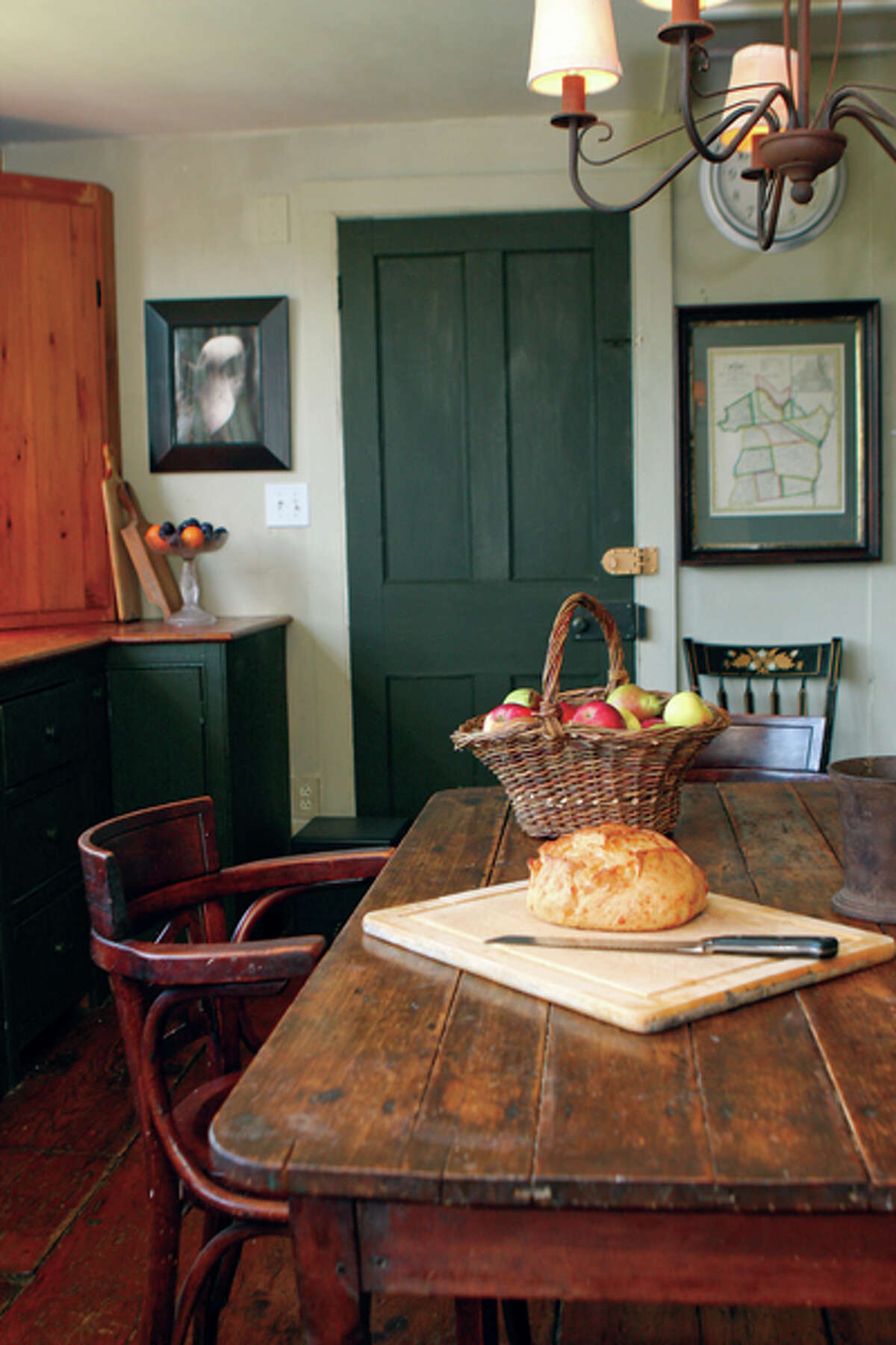 James Brookens' rustic home is filled with interesting pictures and objects. Read the story here. (Photos by Krishna Hill/Life@Home)