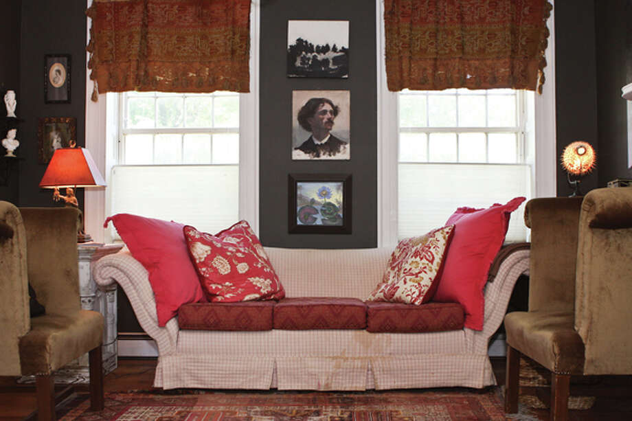 James Brookens' rustic home is filled with interesting pictures and objects. Read the story here. (Photos by Krishna Hill/Life@Home) Photo: Krishna Hill
