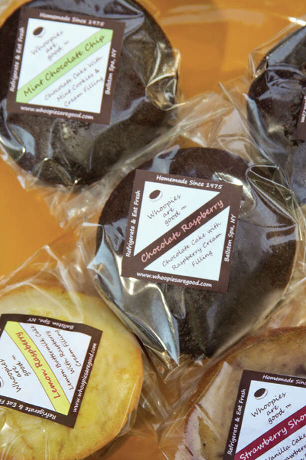 "Made without any preservatives or artificial sweeteners, these delicious treats live up to the business motto of Saratoga Springs-based Whoopies are Good: ""Share the goodness."" Read the story here. (Photos by Paul Barrett/Life@Home)"