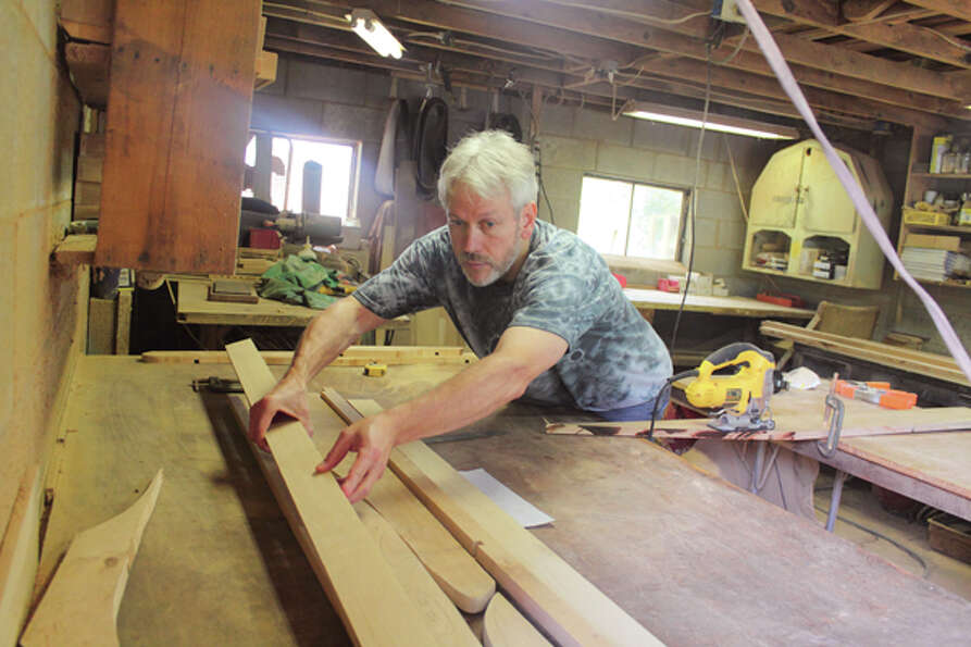 Wood artist Barry Middleton's handcrafted work opens the door to imagination. Read the story