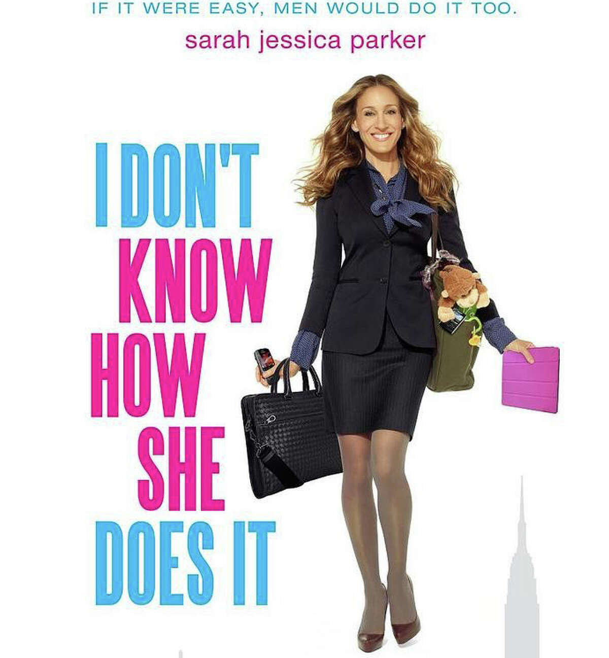 """""""I Don't Know How She Does It,"""" a comedy starring Sarah Jessica Parker, is playing in area movie theaters."""