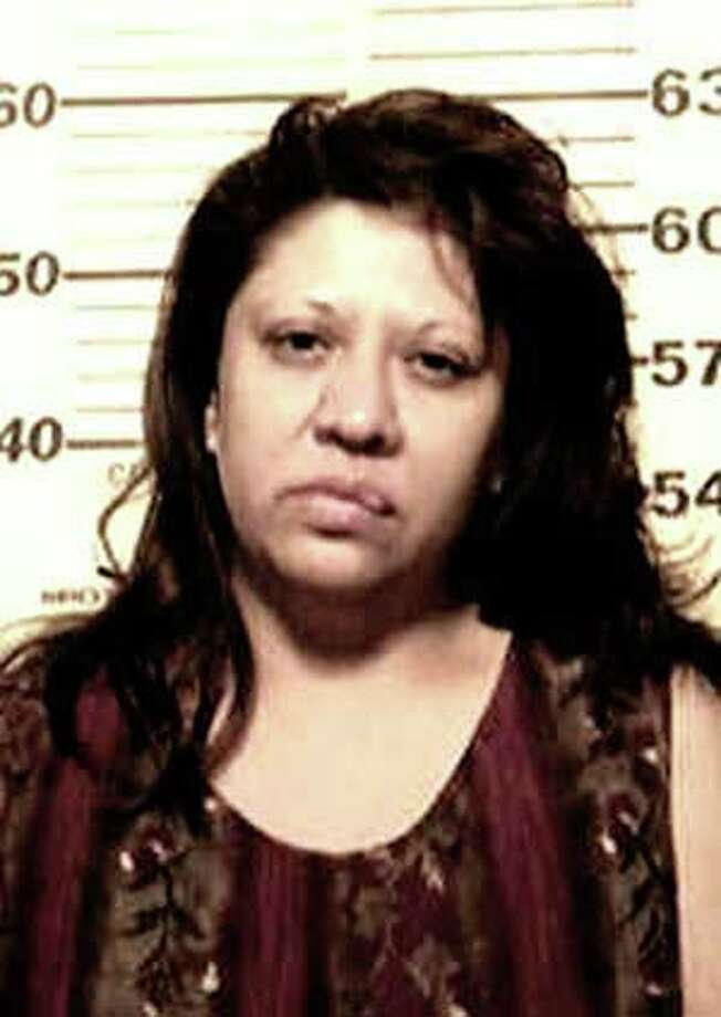 Beatrice Treviño, 43, was charged with murder on Friday, September 23, 2011, after a fatal stabbing on the city's Southwest Side. Photo courtesy of the Bexar County Sheriff's Office