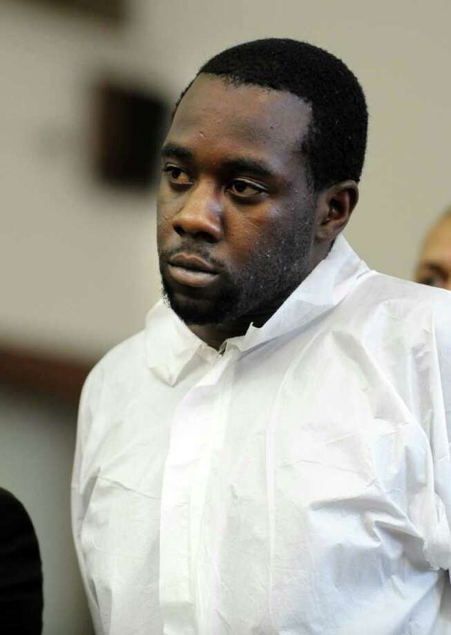 Bjorn Williams is arraigned in Bridgeport Superior Court Friday, Sept. 23, 2011 in connection with the killing of Travis Brown. Photo: Autumn Driscoll / Connecticut Post