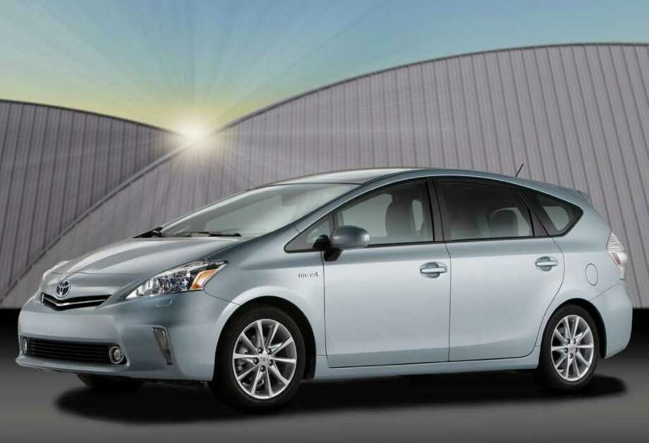 The 2012 Toyota Prius V hybrid crossover will begin at $26,400 (plus $760 freight) when it goes on sale in late October. COURTESY OF TOYOTA MOTOR SALES U.S.A. Photo: Toyota Motor Sales U.S.A., COURTESY OF TOYOTA MOTOR SALES U.S.A.