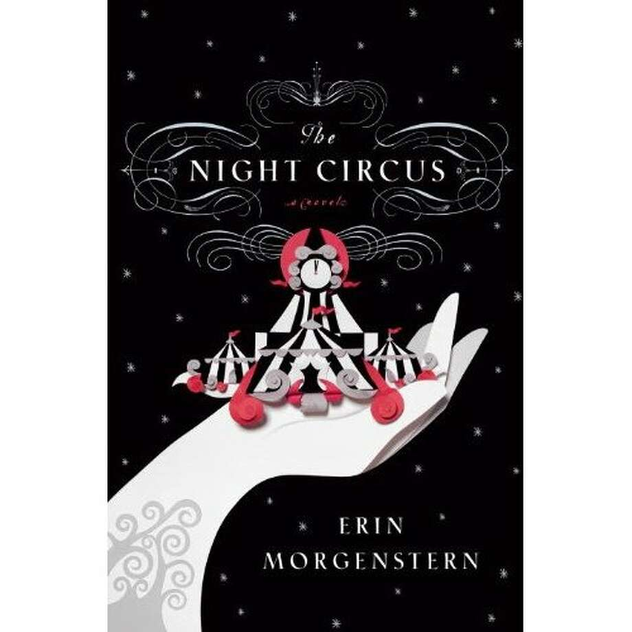 Cover book image for The Night Circus, by Erin Morgenstern Photo: Xx