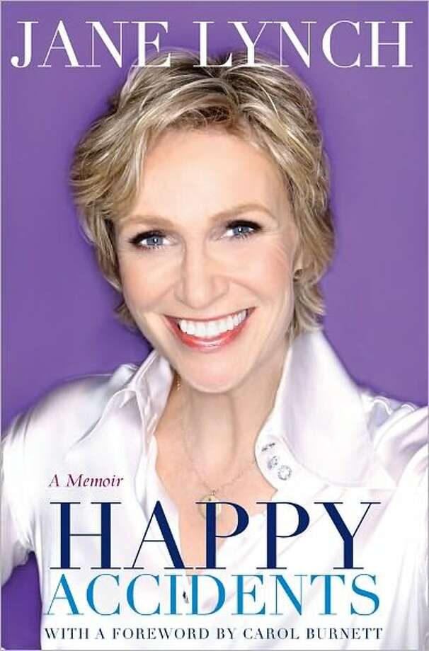 MIRANDA PENN TURIN : FOX her new direction: Jane Lynch, center, writes her memoir with a light touch that is nothing like her acid-tongued Sue Sylvester character on Glee. Photo: Xx