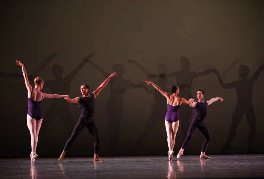 Dancers perform Christopher Wheeldon's 'Polyphonia.' Photo: JOSHUA TRUJILLO / SEATTLEPI.COM