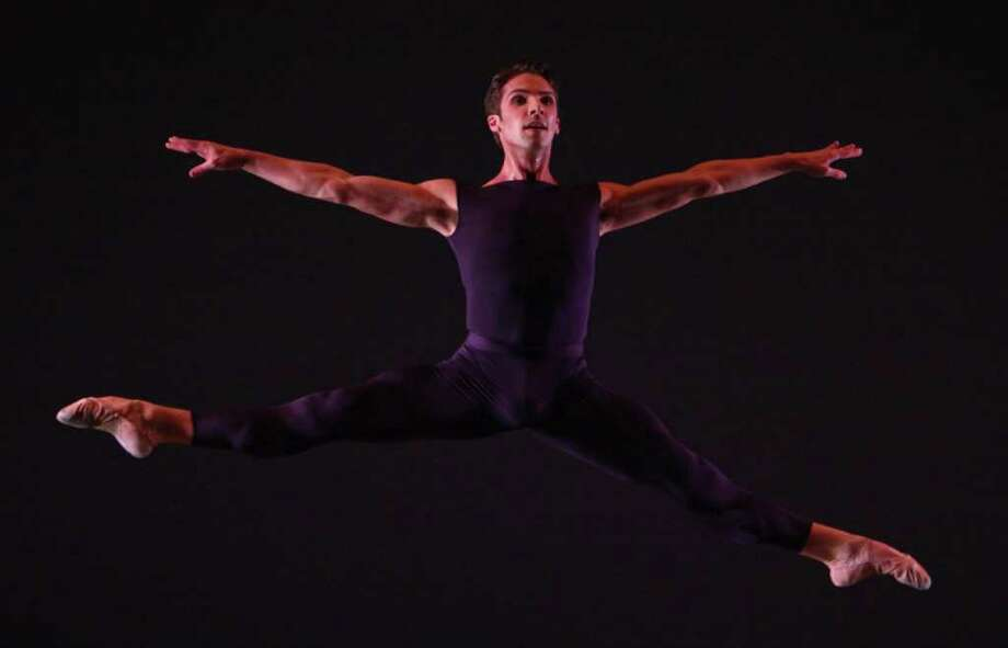 Lucien Postlewaite performs Chrisopher Wheeldon's 'Polyphonia.' Photo: JOSHUA TRUJILLO / SEATTLEPI.COM