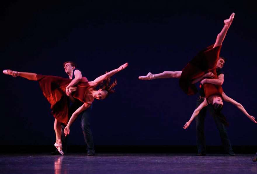 Dancers perform Christopher Wheeldon's 'Carousel (A Dance).'