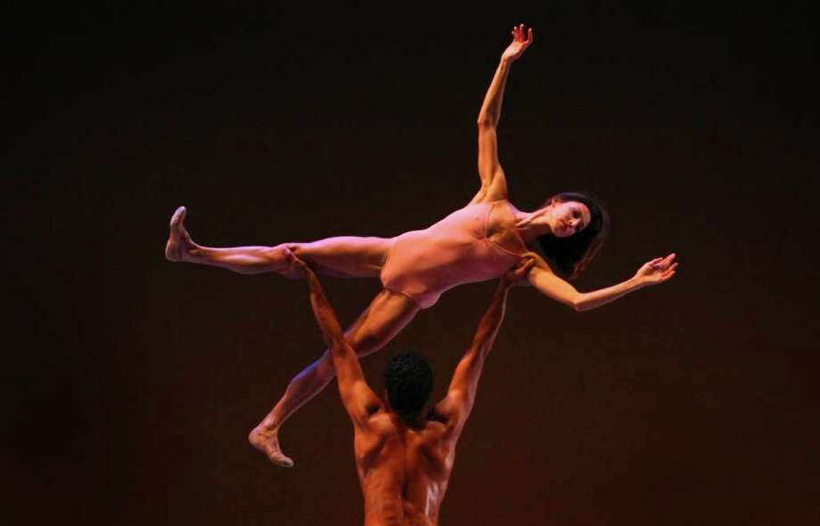 Maria Chapman and Karel Cruz perform 'After the Rain pas de deux.' Photo: JOSHUA TRUJILLO / SEATTLEPI.COM