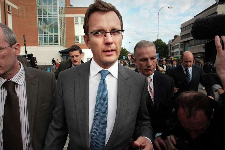LONDON, ENGLAND - JULY 08:  Andy Coulson, former editor of the News of The World newspaper, leaves Lewisham Police station on July 8, 2011 in London, England. Mr Coulson was arrested by police investigating phone hacking.  (Photo by Peter Macdiarmid/Getty Images)  *** BESTPIX *** Photo: Peter Macdiarmid / 2011 Getty Images