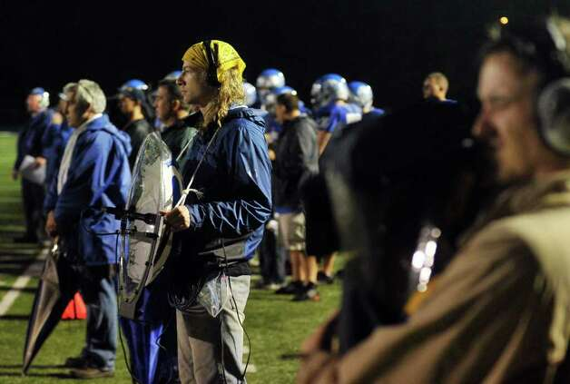 Highlights from boys football action between Bunnell and New Milford in Stratford, Conn. on Friday September 23, 2011. Photo: Christian Abraham / Connecticut Post
