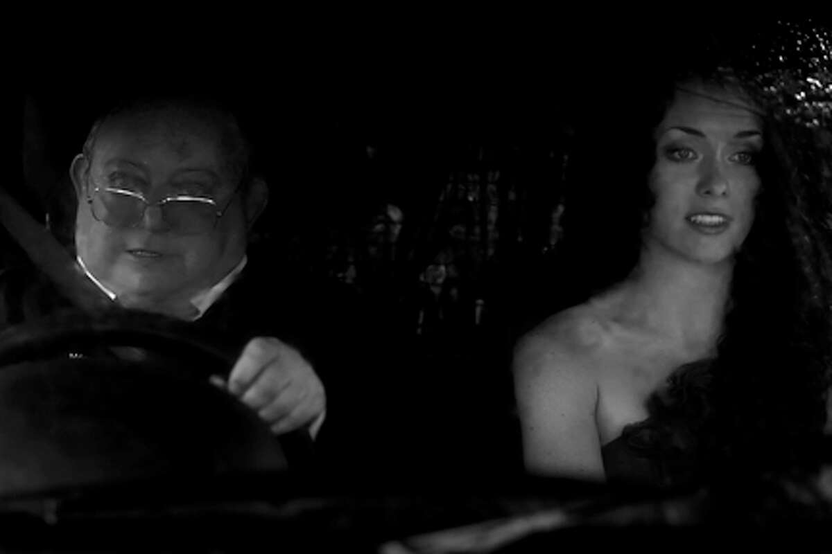 Laurence R. Harvey as Martin and Ashlynn Yennie as Miss Yennie in
