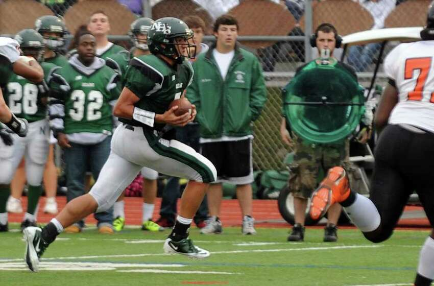Highlights from boys football action between Stamford and Norwalk in Norwalk, Conn. on Saturday September 24, 2011.