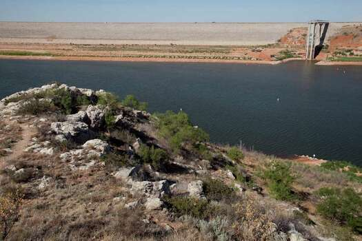 Lake Meredith National Recreation Area: Just 30 miles north Amarillo, the Lake Meredith National Recreation Area is considered a welcome sight in the largely parched Texas panhandle. Photo: Tony Gutierrez, Associated Press / AP