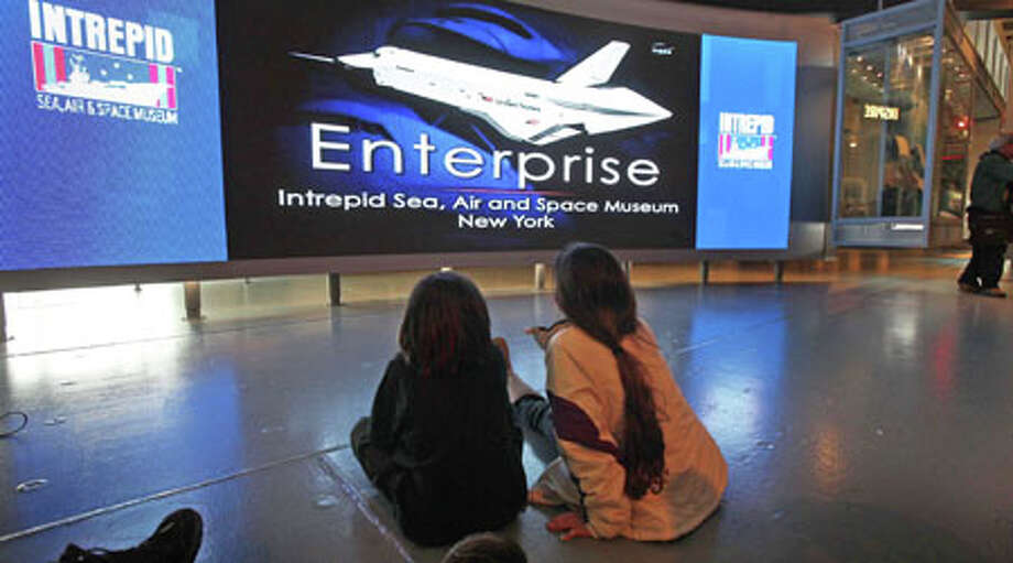 In April, NASA announced that the space shuttle Enterprise will be retired at the Intrepid Sea, Air & Space Museum in New York. Photo: CHANG W LEE, Associated Press / NYTNS