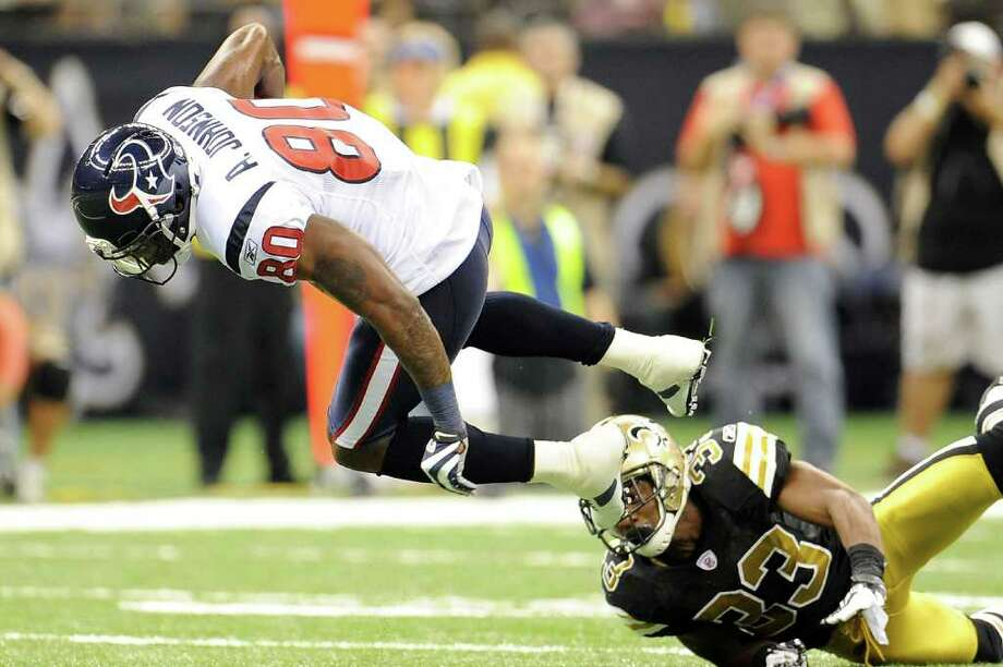 Andre Johnson will focus on making a return against Cleveland on Nov. 6. Photo: Stacy Revere, Getty / 2011 Getty Images