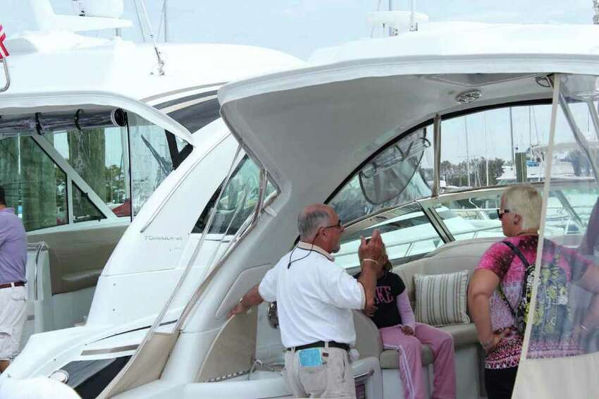 Everybody's having a great time at the Norwalk Boat Show, at the Calf Pasture Beach Marina on September 25th, 2011. Were you seen?