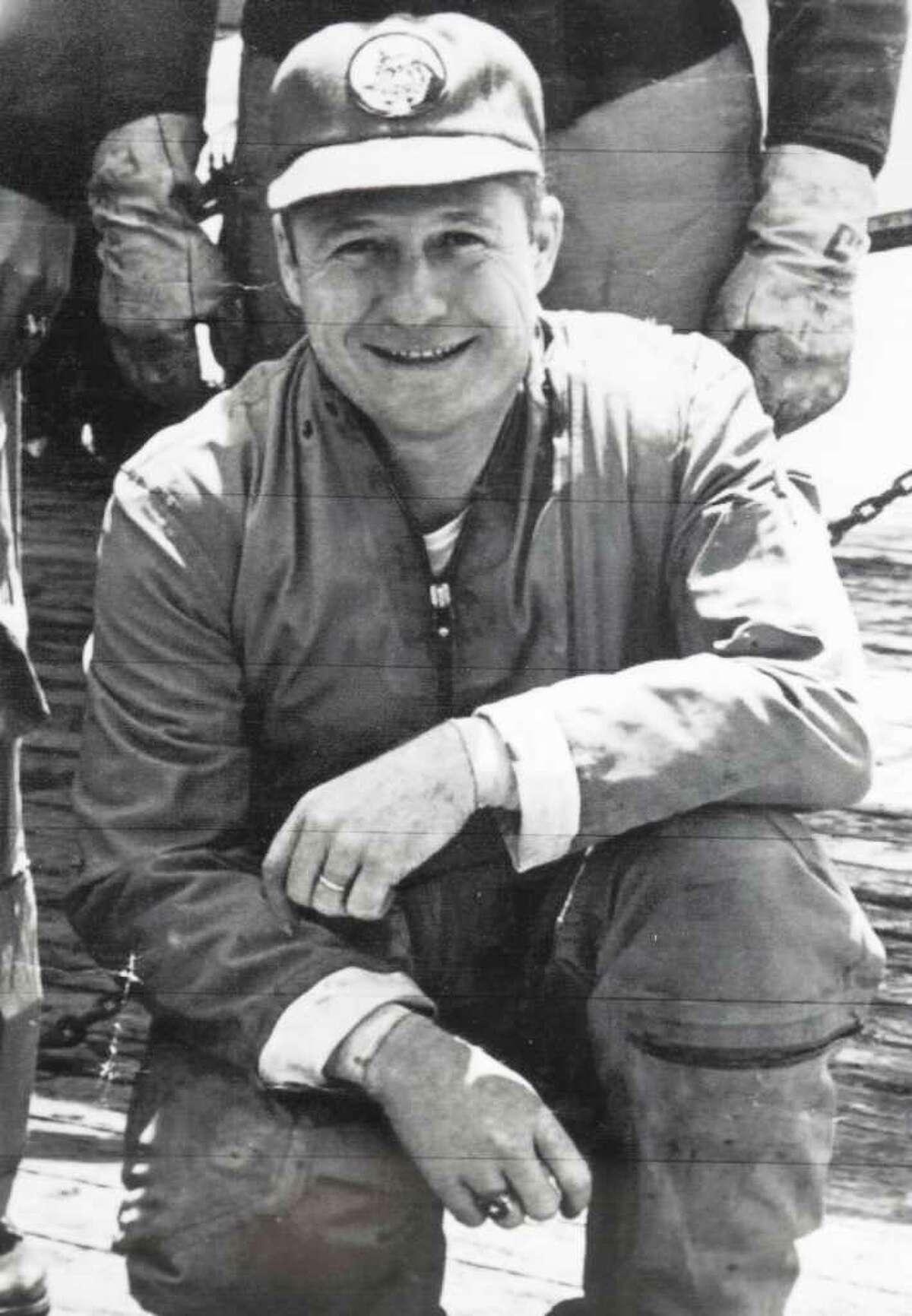 AUBIN FAMILY LOST AT SEA: Chief Petty Officer Joseph W. Aubin's remains were never found.