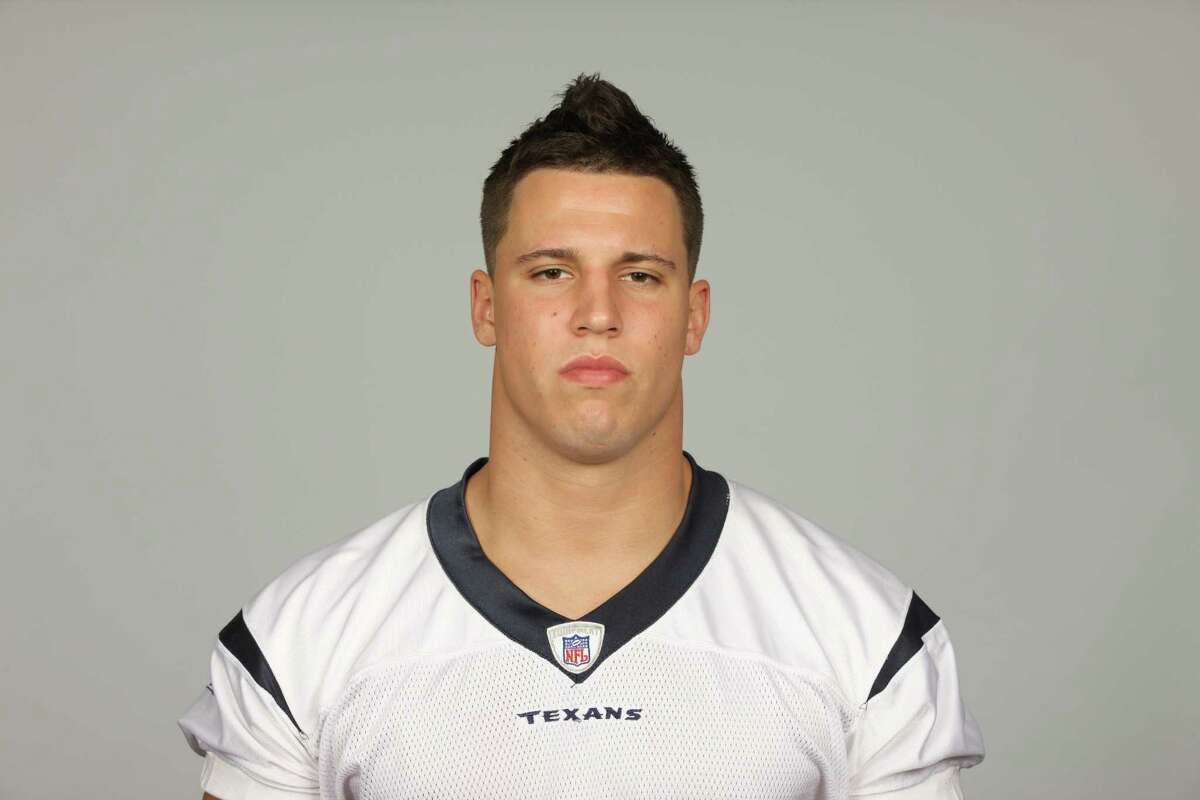 This is a photo of Brian Cushing of the Houston Texans NFL football team. This image reflects the Houston Texans active roster as of Wednesday, Aug. 24, 2011. (AP Photo)