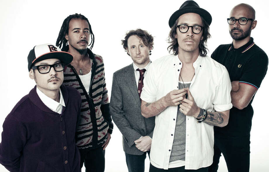 Rock band Incubus, led by singer Brandon Boyd, second from right. COURTESY PHOTO