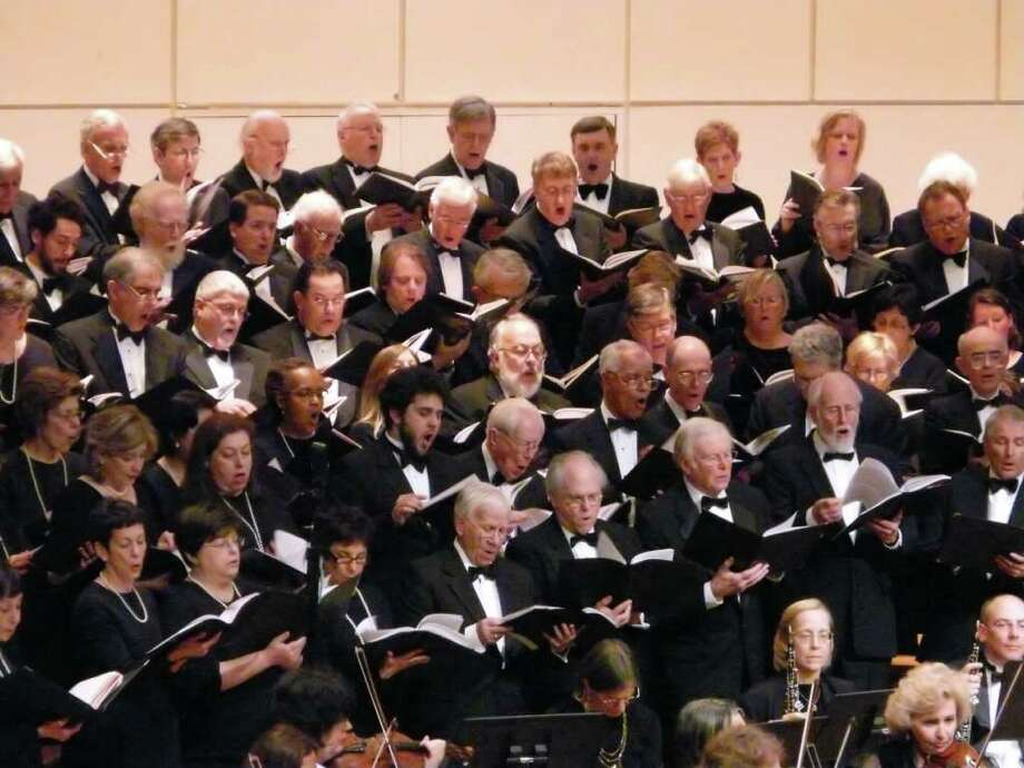 The Fairfield County Chorale will receive the 2011 Artist of the Year award from the Fairfield Arts Center at a special Oct. 15 concert. Photo: Contributed Photo
