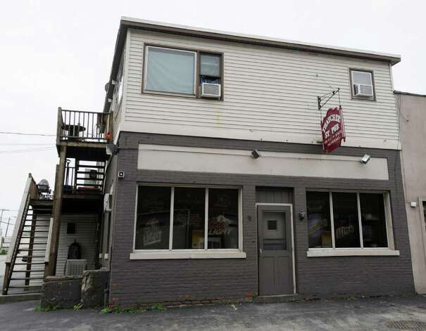 The Thacher Bar near the proposed new Sneaky Pete's on Thacher Street in Albany, N.Y. September 26, 2011.    (Skip Dickstein/Times Union) Photo: Skip Dickstein / 00014755A