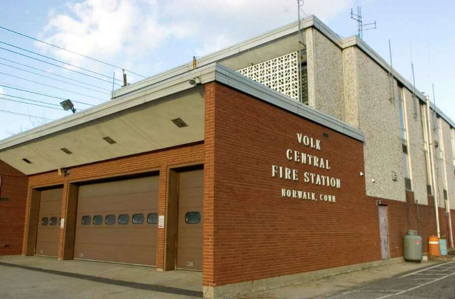 The Norwalk Fire Department's Charles A. Volk Central Fire Station on Connecticut Avenue in Norwalk. There will be an open house at the station Saturday, the last one before the city begins demolition and construction of the new fire headquarters. Photo: ST