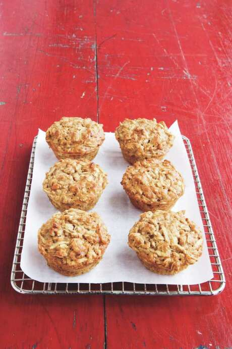 APPLE-OAT MUFFINS From Good Housekeeping Photo: AMY KALYN SIMS