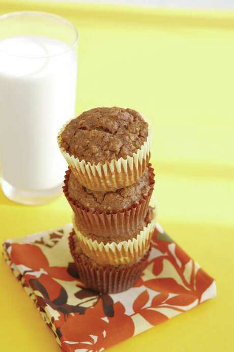 BANANA -GINGERBREAD MUFFINS From Quick & Simple Staff Photo: THERESA RAFFETTO