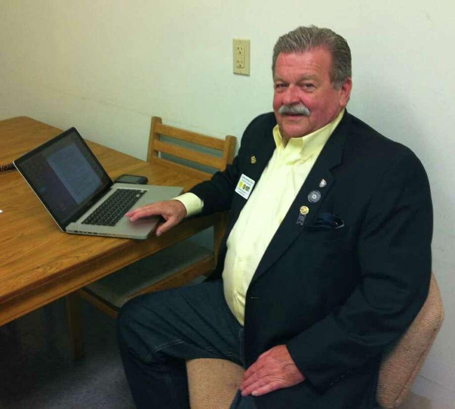 John Hendrickson, 71, is looking forward to his new venture, a company called BuyLogic. Photo: Michael C. Juliano/Staff Photo