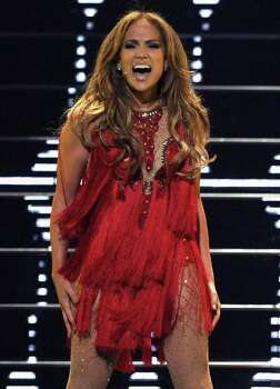 Jennifer Lopez performs during the iHeartRadio music festival on Saturday, Sept. 24, 2011, in Las Vegas. Photo: Chris Pizzello, AP