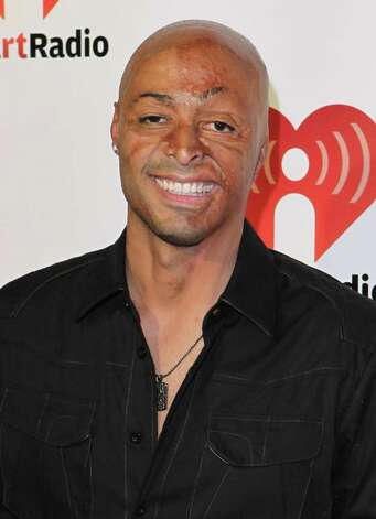 J.R. Martinez arrives at the iHeartRadio music festival on Saturday, Sept. 24, 2011, in Las Vegas. Photo: Jeff Bottari, AP