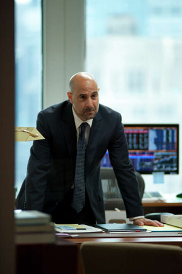 "Stanley Tucci as Eric Dale in ""Margin Call."" Photo: JOJO WHILDEN"
