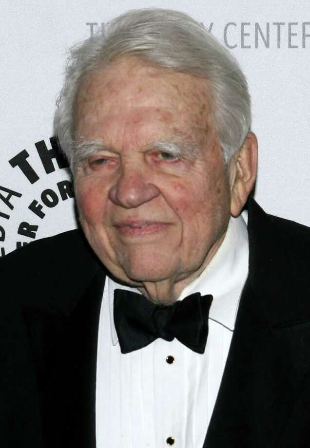 "Yesterday, Andy Rooney officially announced his departure from CBS's ""60 Minutes."" Rooney has been a regular contributor to the network news show since 1978.At 92 years old, Rooney is the oldest person currently appearing regularly on television, but plenty of other actors and TV personalities have continued television appearances well into old age. Click through the slideshow to see some of the most prolific older faces on TV.  Photo: Scott Wintrow, Getty Images / 2008 Getty Images"