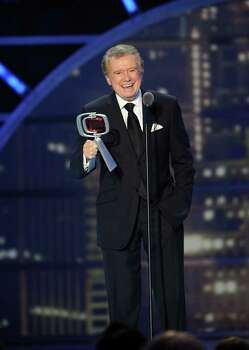 NEW YORK, NY - APRIL 10:  Regis Philbin accepts The Legend Award onstage at the 9th Annual TV Land Awards at the Javits Center on April 10, 2011 in New York City.  (Photo by Larry Busacca/Getty Images) *** Local Caption *** Regis Philbin Photo: Larry Busacca, Getty Images / 2011 Getty Images