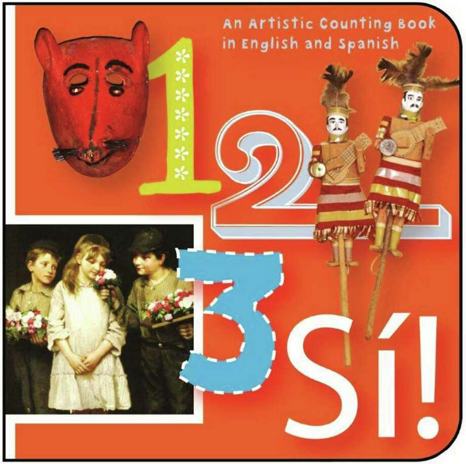 "The illustrated bilingual board book to help children learn about numbers titled ""1, 2, 3 Si"" is a collaboration between the San Antonio Public Library Foundation, the San Antonio Museum of Art and Trinity University Press. Photo: Courtesy Photo"