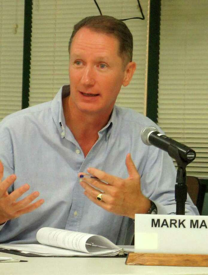 Mark Mathias is a Democratic member of the Westport Board of Education. Photo: Paul Schott / Westport News