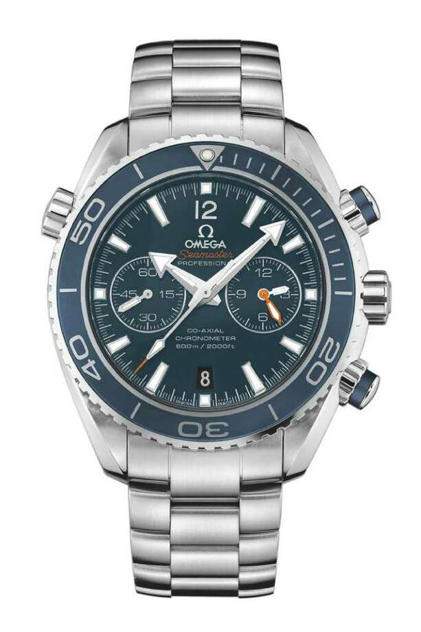 NEW caption for higher res version of watch: Omega Seamaster Planet Ocean 600 M Chronograph Photo: Omega